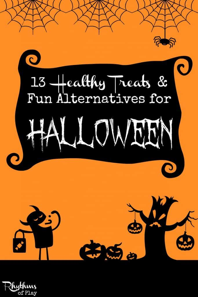 halloween handout ideas healthy treats and non candy alternatives for kids rhythms of play