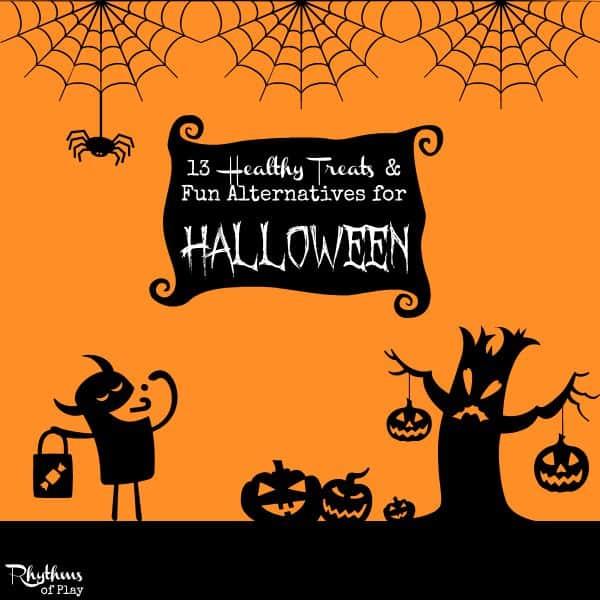 13 Heathy treats for Halloween