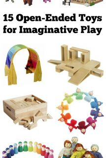 15 Open-ended Toys for Pretend Play