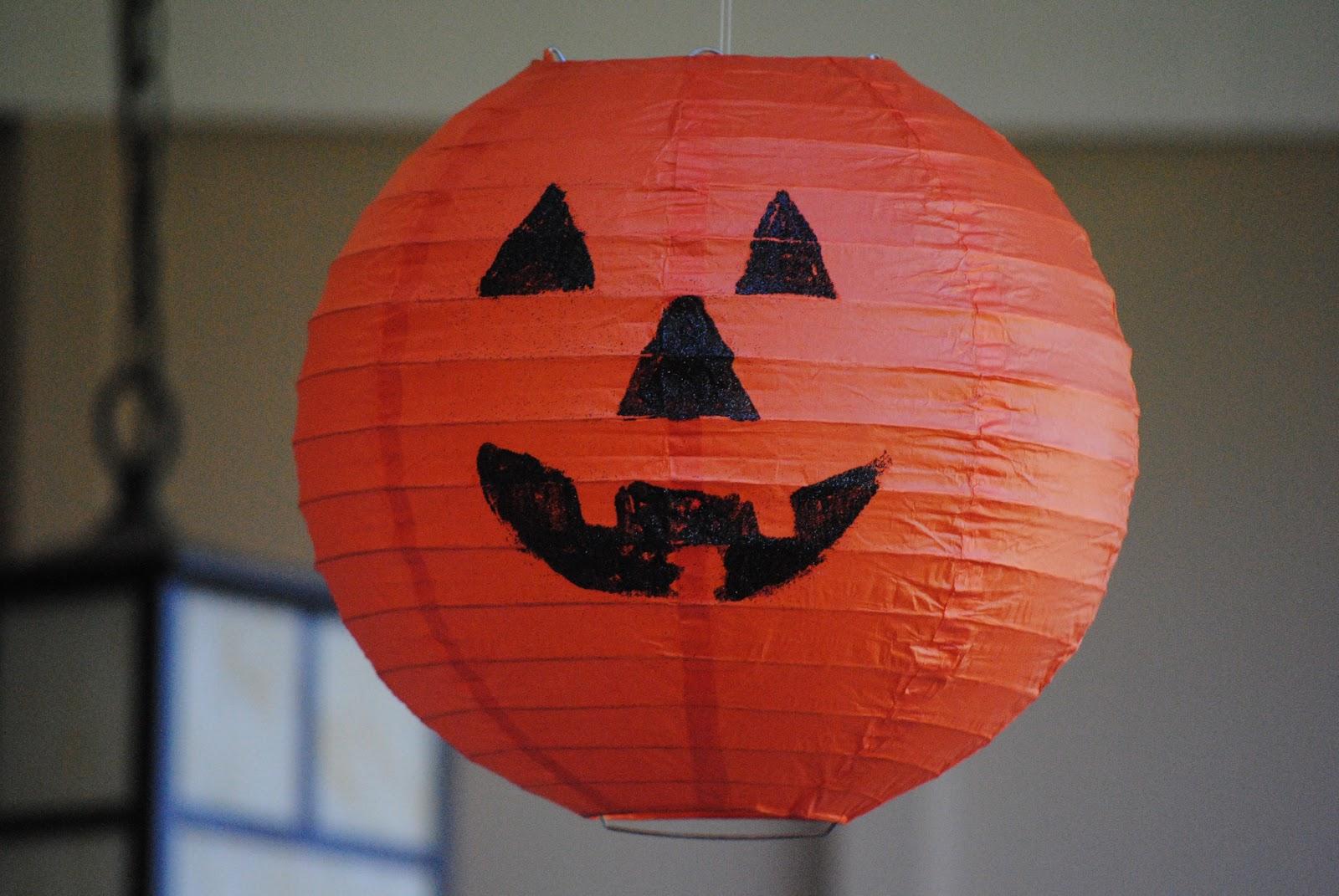 Gorgeous glowing diy halloween lanterns rhythms of play - Make hanging lanterns ...