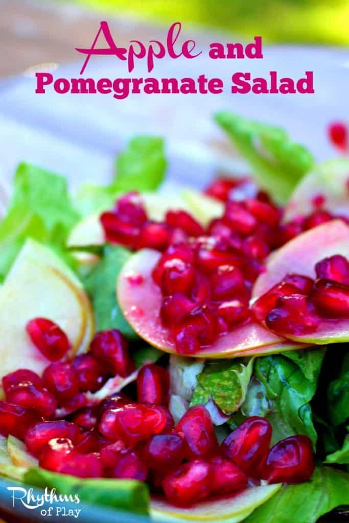 Apple and Pomegranate Salad