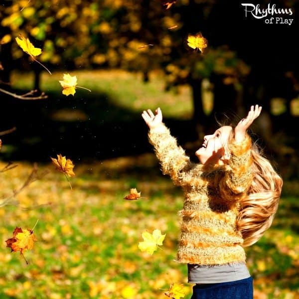 Catch and Count Falling Leaves sq