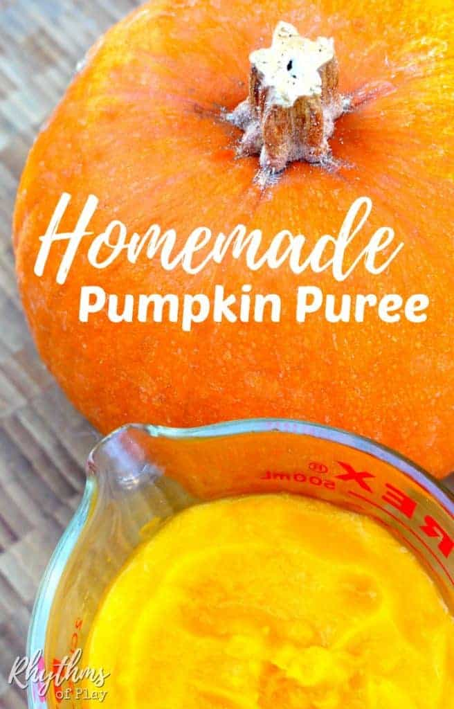 How to make pumpkin puree from scratch the easy way!