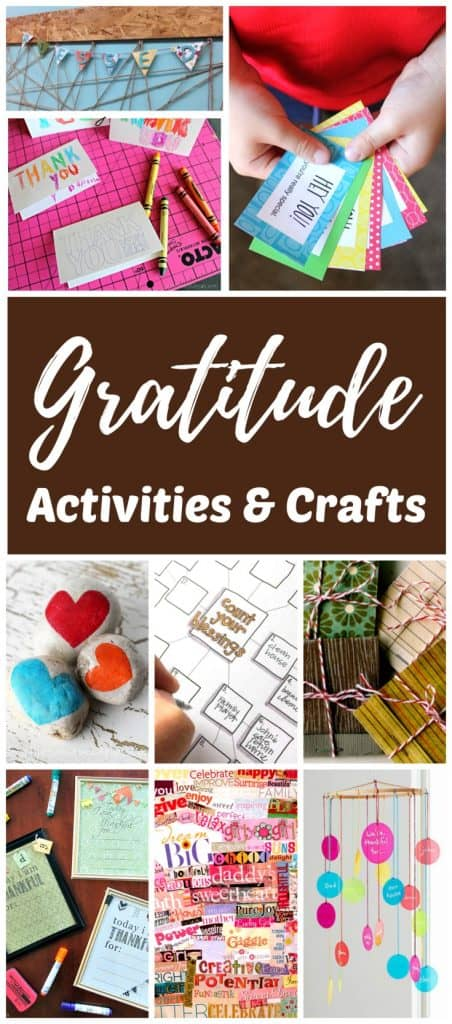 Year Round Gratitude Activities and Crafts for Kids