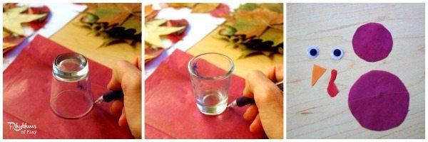 Turkey leaf lantern luminaries