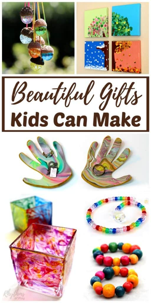 homemade gifts kids can make for parents and grandparents rhythms