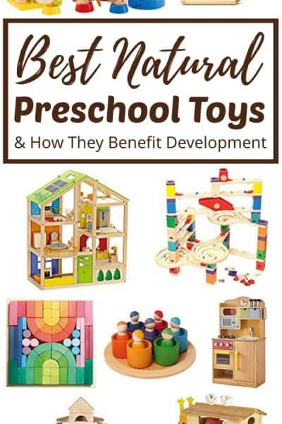 best preschool toys made with natural materials.