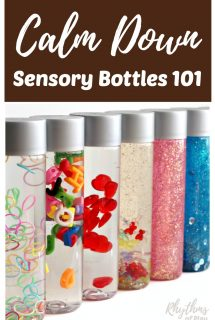 DIY Calm Down Sensory Bottles 101