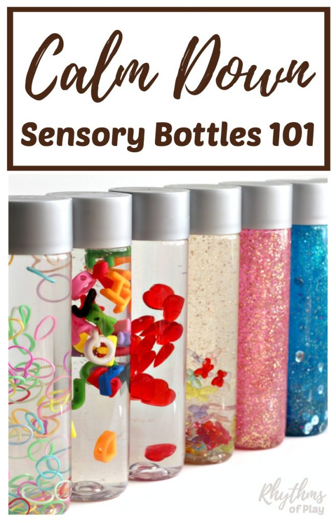 diy calm down sensory bottles 101 rhythms of play