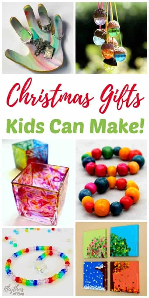 Christmas gifts kids can make rhythms of play for Easy crafts for christmas presents