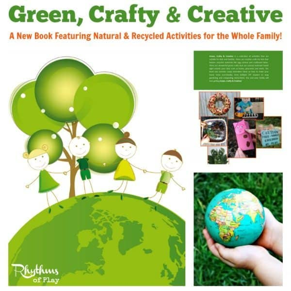 Green Crafty and Creative Book
