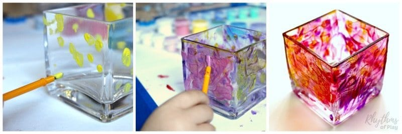 hand-painted-votives-swirls-and-dots-process