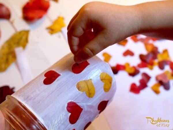 Heart Leaf Lanterns