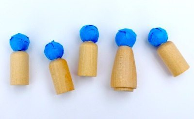 Elf Peg Doll Ornaments For Christmas Rhythms Of Play