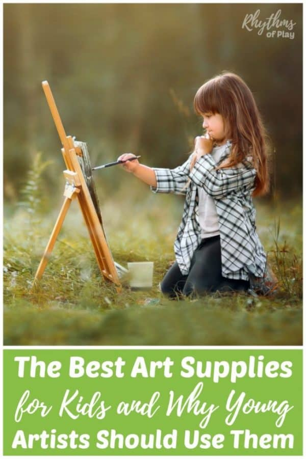 High-quality art materials for children