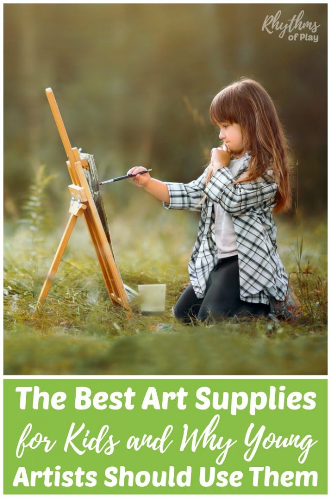 The best art supplies for kids. Quality art materials are said to educate the sensesand condition the young child's mind for higher learning.It's not the quantity, but the quality of the materials that matter. Your child does not need to be a Waldorf or Montessori student to have a high-quality art education.These art supplies are for every home that wants the best art education for their child, whether you homeschool or not.
