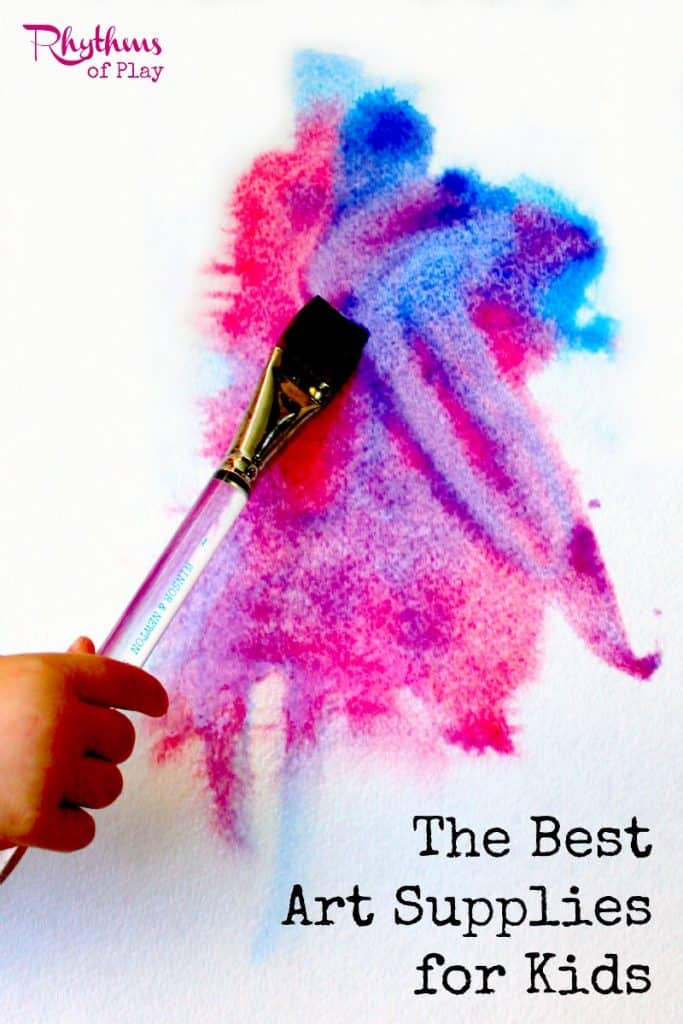 The best art supplies for kids rhythms of play for Craft supplies for kids
