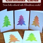 Watercolor Tree Christmas Cards