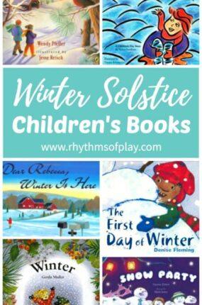 Children's winter solstice books