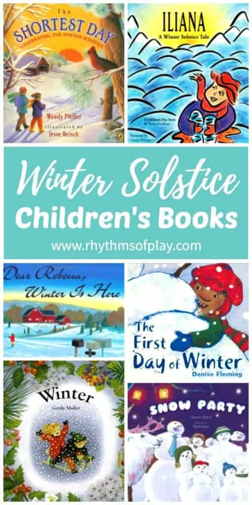 Children's winter solstice books