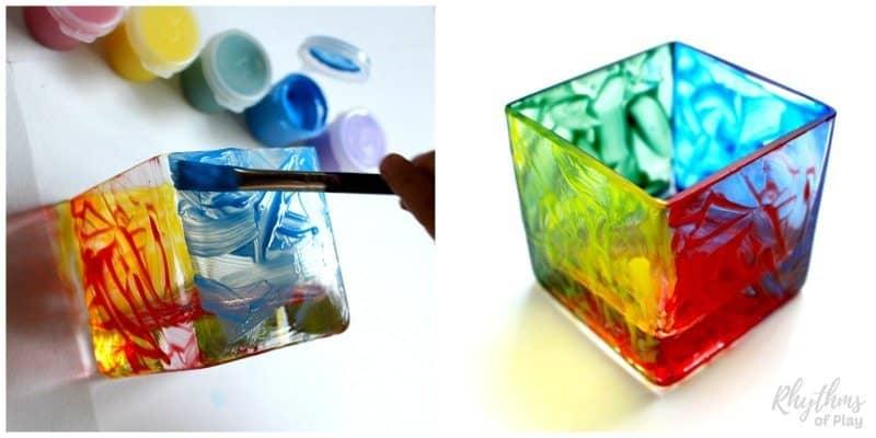 hand-painted-votives-color-block-process