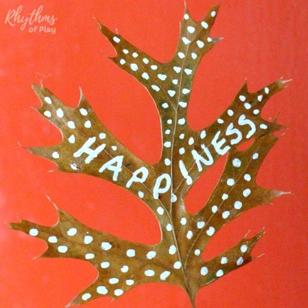 Remind your guests and family of the true meaning of Thanksgiving by making a DIY thankful tree with real fall leaves this year. Creating and decorating one with autumn leaves is a gratitude activity that both kids and adults will enjoy. Click through to learn how to make your own Thanksgiving tree nature craft!