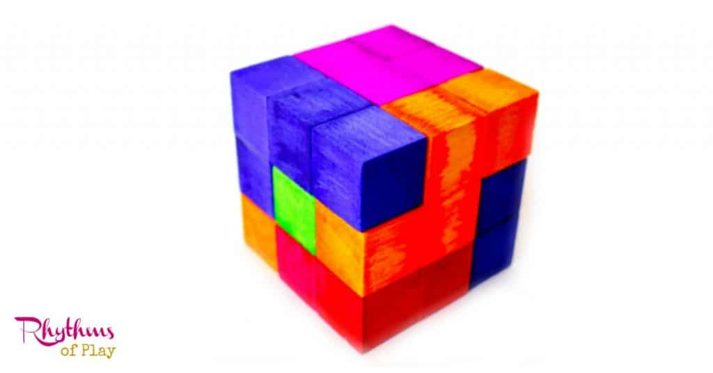 DIY Tetris Inspired Puzzle Cube Rhythms Of Play