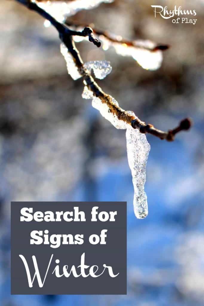 Search for Signs of Winter
