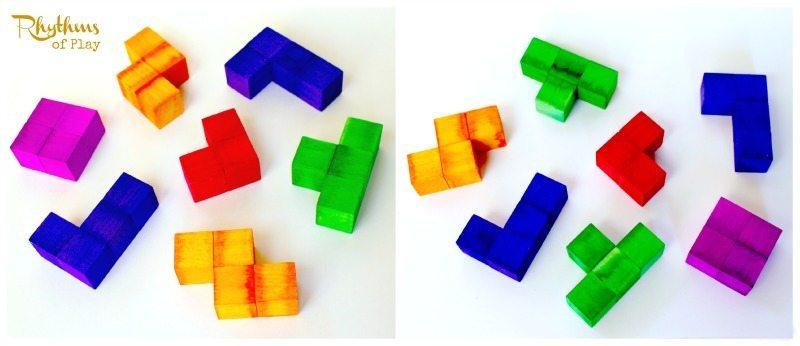 DIY Tetris-Inspired Puzzle Cube