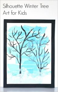 Winter Tree Art buggyandbuddy