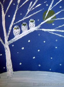 owls in the night 3 (Medium)