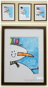 winter-art-projects-for-kids-Snowman-Painting-3