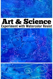 Art & Science: Experiment with Watercolor Resist
