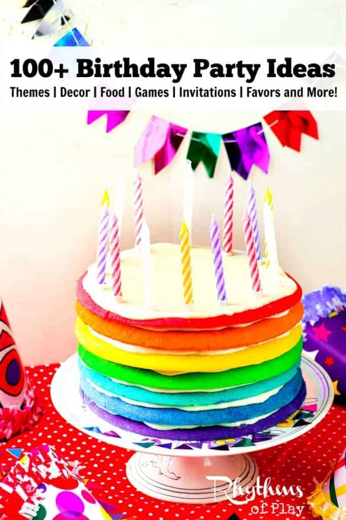 Birthday Party Ideas themes favors cakes invitations cupcakes games decorations invitations