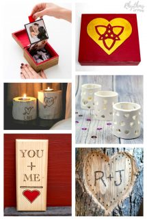 DIY Keepsake Gifts for Him or Her