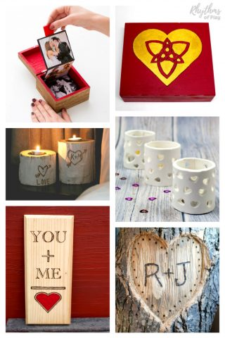DIY Keepsake Gifts for Him or Her
