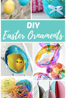 DIY Easter Ornaments