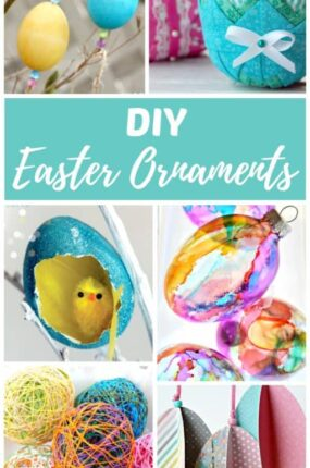 Easter ornament diy craft ideas