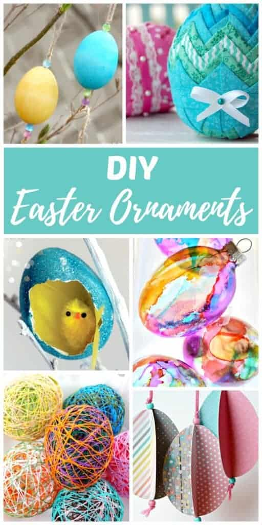 Easter ornament diy craft ideas