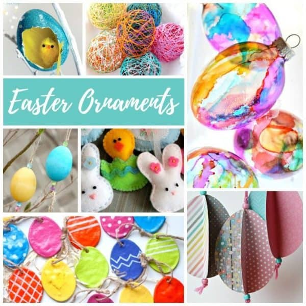 DIY Easter ornaments are for decorating Easter trees, centerpieces, and spring nature tables. Both kids and adults will enjoy making these easy Easter crafts. Easter ornaments are also a lovely way to decorate the home in the spring for the Vernal Equinox.
