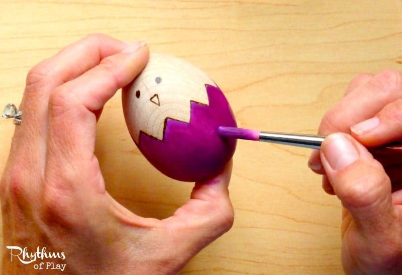 fun crafts for adults diy easter wooden egg craft rhythms of play 4522