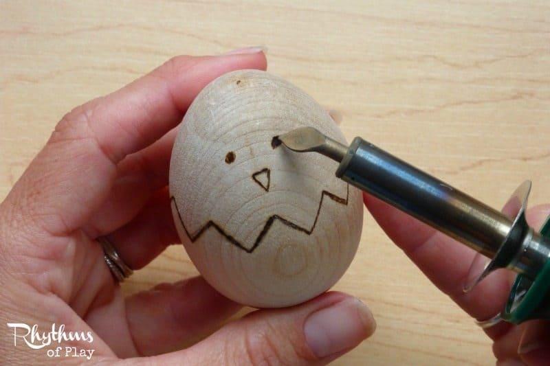 woodburn Easter Chick design