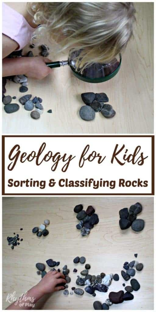 Sorting and Classifying Rocks: Geology for Kids