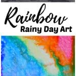 Rainbow Rainy Day Art Kids STEAM
