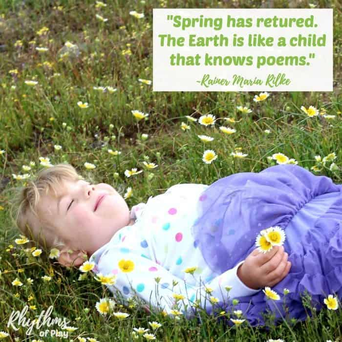 Search for signs of spring quote sq