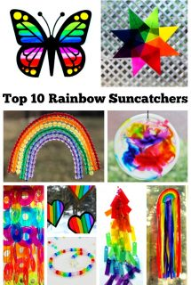 Top 10 Rainbow Suncatchers