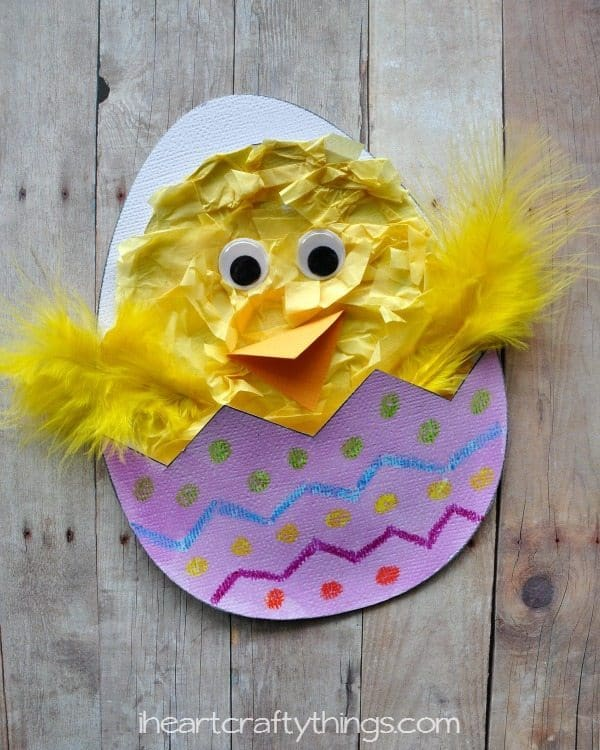 hatching spring chick craft