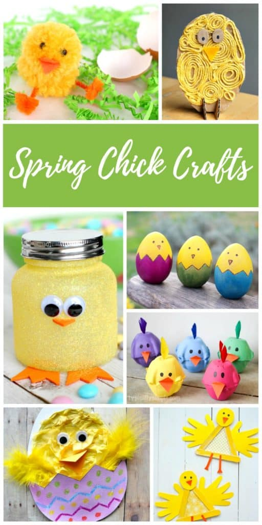 Spring Chick Crafts