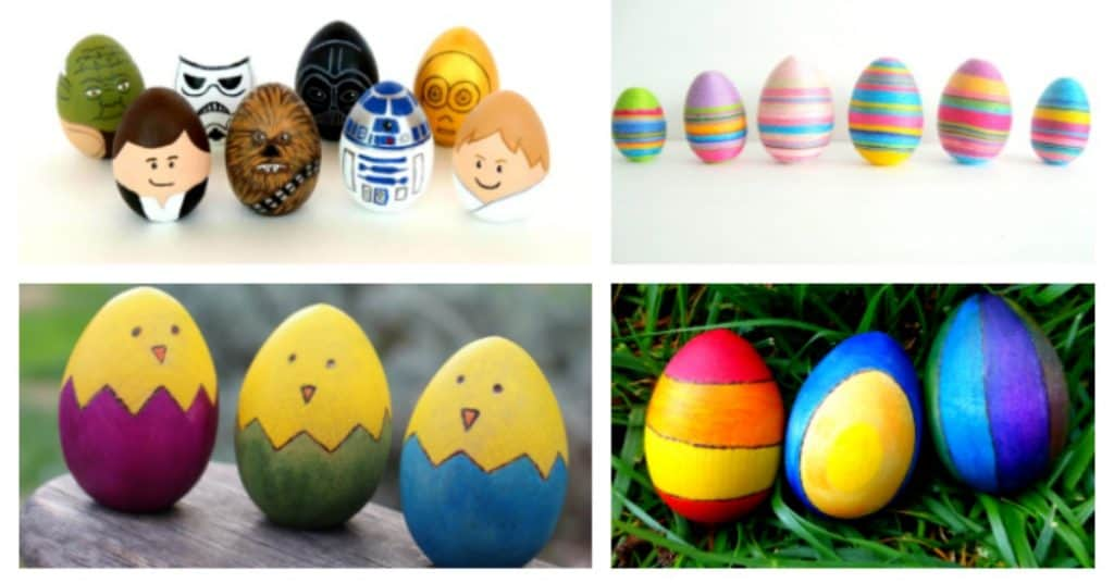 The Best Diy Wooden Egg Craft Ideas For Easter Rhythms Of Play