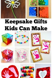 Keepsake Gifts Kids Can Make